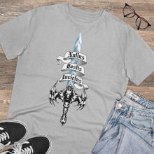 Load image into Gallery viewer, Sword of Cerberus Big and Tall Organic Creator T-shirt - Unisex