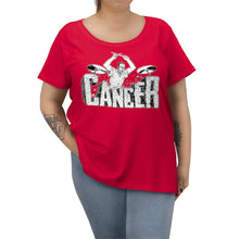 Load image into Gallery viewer, Beat Cancer Women's Curvy Tee
