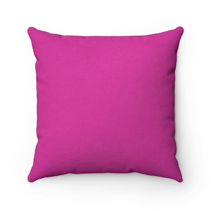 F*cking Faux Suede Square Pillow
