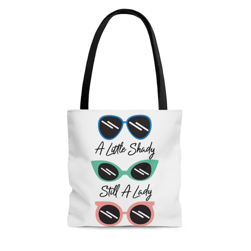 A Little Shady Tote Bag