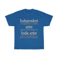 Load image into Gallery viewer, Indie Artist Unisex Heavy Cotton Tee