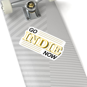 Go Indie Now Kiss-Cut Stickers