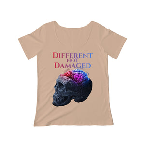 Different not Damaged Women's Scoop Neck T-shirt