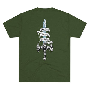 Sword of Cerberus Back Tri-blend Cotton Tee
