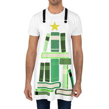 Load image into Gallery viewer, Merry Bookmas Apron