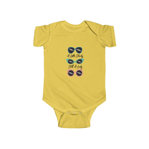 A Little Shady Infant Onesie