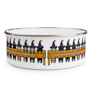Witch Kitty Candy Bowl