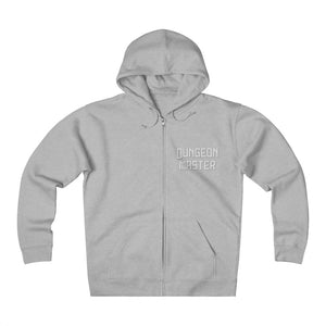 Dungeon Master Unisex Heavyweight Fleece Zip Hoodie