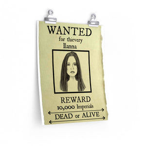 Wanted Poster ilanna Premium Matte vertical posters