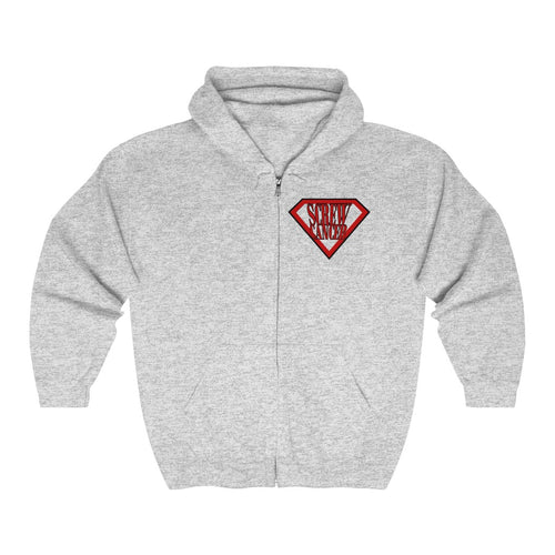 Screw Cancer Unisex Heavy Blend™ Full Zip Hooded Sweatshirt
