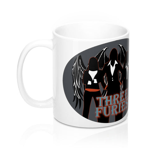 Three Furies Press Mug 11oz