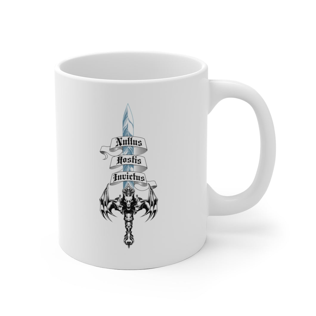 Sword of Cerberus White Ceramic Mug