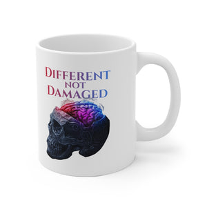 Different not Damaged White Ceramic Mug