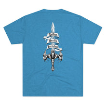 Load image into Gallery viewer, Sword of Cerberus Back Tri-blend Cotton Tee