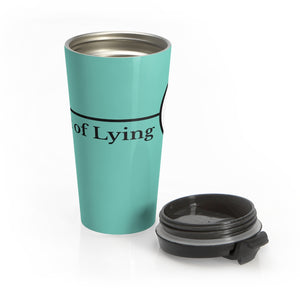 Art of Lying Stainless Steel Travel Mug