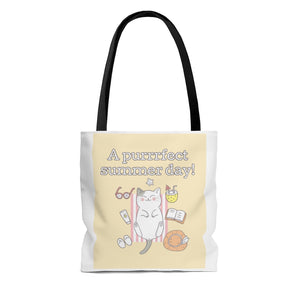 Purrfect Day Tote Bag