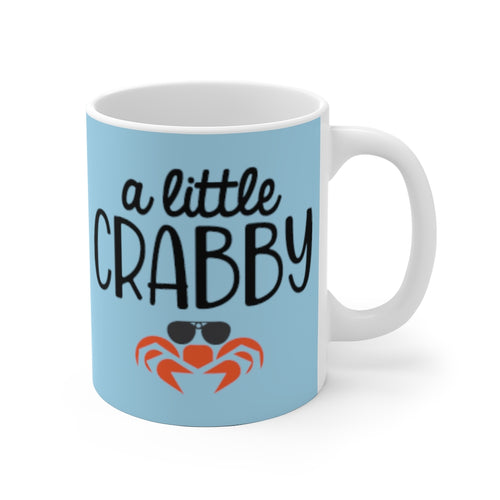 A Little Crabby Ceramic Mug