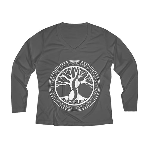 Agents of ASSET Women's Long Sleeve Performance V-neck Tee