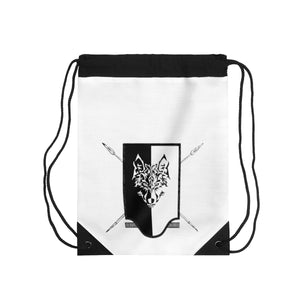 Grim Reavers Shield Drawstring Bag
