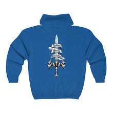 Load image into Gallery viewer, Sword of Cerberus Big and Tall Unisex Heavy Blend™ Full Zip Hooded Sweatshirt