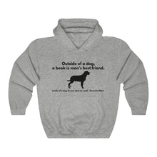 Load image into Gallery viewer, Dogs and Books Unisex Heavy Blend™ Hooded Sweatshirt