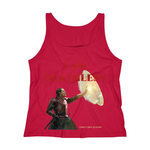 Deathless Women's Relaxed Jersey Tank Top