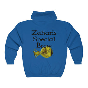 Zaharis Special Brew Big and Tall Unisex Heavy Blend™ Full Zip Hooded Sweatshirt