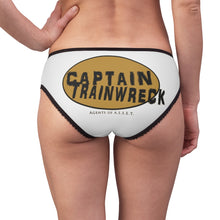 Load image into Gallery viewer, Capt Trainwreck Yellow Women's Briefs