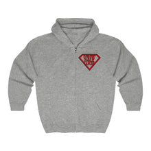 Load image into Gallery viewer, Screw Cancer Unisex Heavy Blend™ Full Zip Hooded Sweatshirt