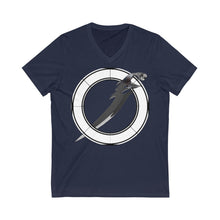 Load image into Gallery viewer, Soulhunger CA/UK Printed Unisex Jersey Short Sleeve V-Neck Tee
