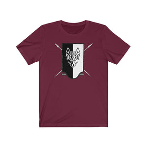 Grim Reavers Shield Unisex Heavy Cotton Tee