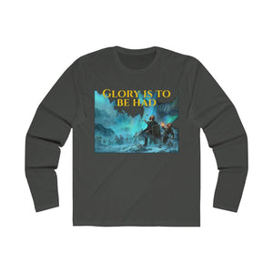 Fight for Glory! Men's Long Sleeve Crew Tee
