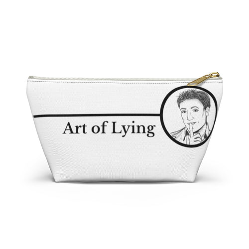 Art of Lying Accessory Pouch w T-bottom