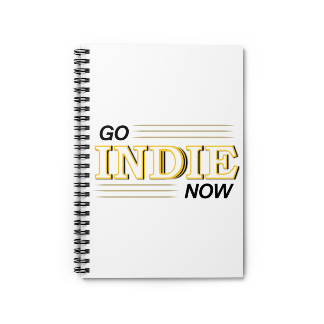 Go Indie Now Spiral Notebook - Ruled Line