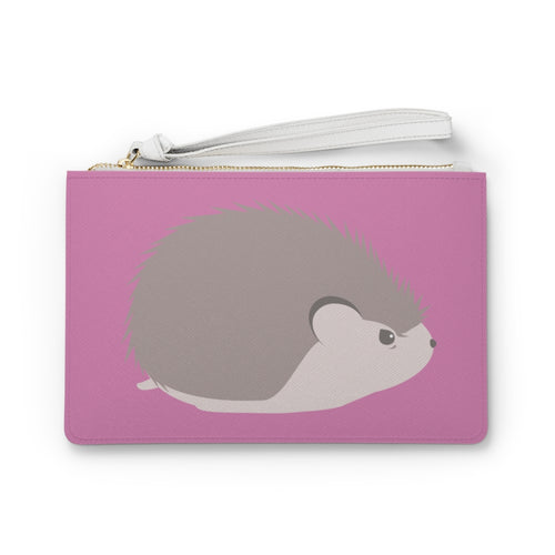 Grumpy Hedgehog Clutch Bag