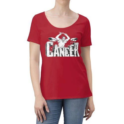 Beat Cancer Women's Scoop Neck T-shirt