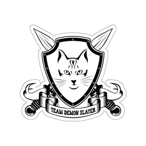 Team Demonslayer Kiss-Cut Stickers