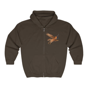 Snarl Big and Tall Unisex Heavy Blend™ Full Zip Hooded Sweatshirt