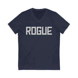 Rogue Unisex Jersey Short Sleeve V-Neck Tee