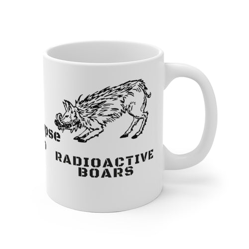 Radioactive Boars Ceramic Mug