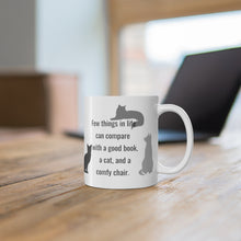 Load image into Gallery viewer, Cat Mug 11oz