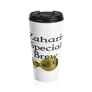 Zaharis Brew Stainless Steel Travel Mug