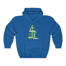 Load image into Gallery viewer, Bookmas Tree Unisex Heavy Blend™ Hooded Sweatshirt