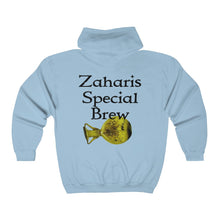 Load image into Gallery viewer, Zaharis Special Brew Big and Tall Unisex Heavy Blend™ Full Zip Hooded Sweatshirt
