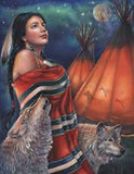 Legend of the Wolf © Gloria West