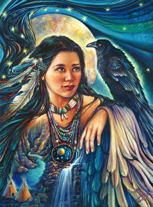 Raven Maiden © Gloria West