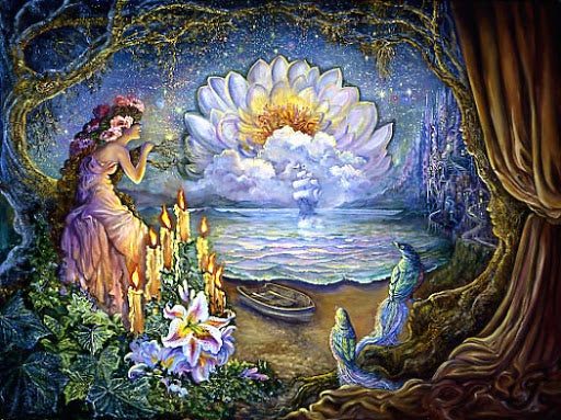 Waiting ©Josephine Wall