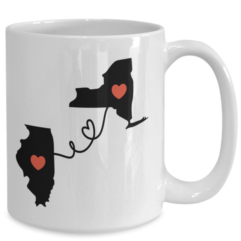 Best Friends State Mug