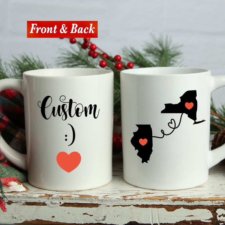 Custom Name Multi State Mug