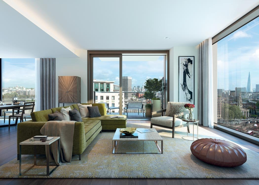 Southbank Place London - Interior  design